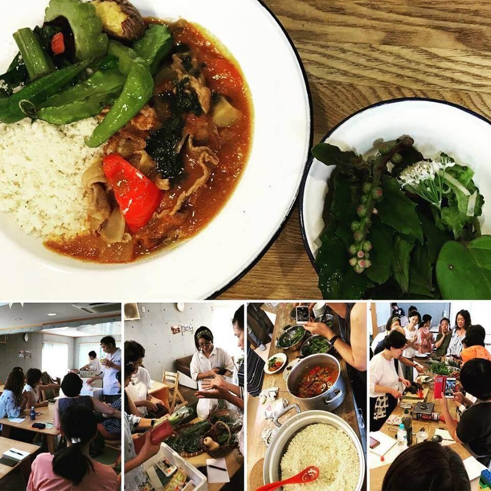 「とうふ処三河屋×多摩地域野菜を楽しむ会」